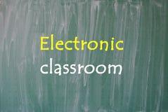 电子教室 图库摄影