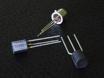电子晶体管 免版税库存图片