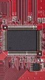 电子板-硬件元件 免版税库存照片