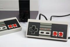 电子游戏控制台 免版税库存图片