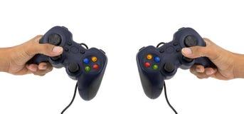 电子游戏的控制杆 免版税库存图片