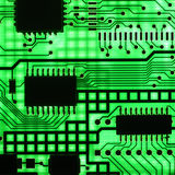 电子的导体半 库存照片