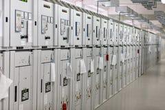 电子的机柜 免版税库存图片