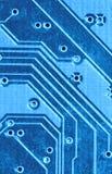 电子的电路 免版税库存照片
