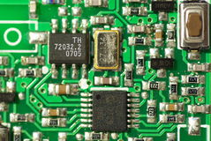 电子的电路 免版税图库摄影