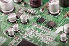 电子的计算机 免版税库存图片