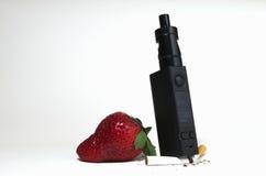 电子的香烟 免版税库存图片