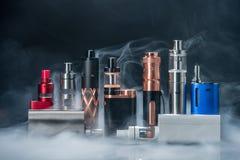 电子的香烟 免版税库存照片