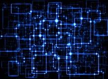 电子突触 库存图片