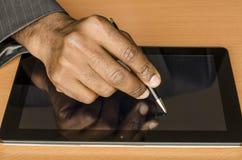 电子署名 免版税库存照片