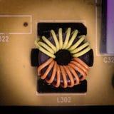 电子董事会的电路 图库摄影