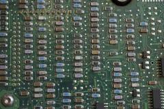 电子董事会的电路 免版税图库摄影