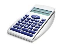 电子计算器和欧洲交换器 免版税图库摄影
