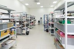 电子设备的测试和调整的实验室 图库摄影