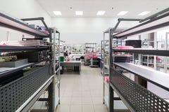 电子设备的测试和调整的实验室 免版税库存照片