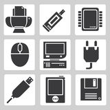 电子设备象 库存图片