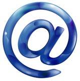 电子邮件图标 皇族释放例证