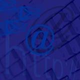 电子邮件图象互联网 免版税库存照片