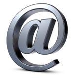 电子邮件标志 免版税库存图片