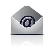 电子邮件符号向量 免版税图库摄影