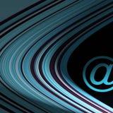 电子邮件符号 库存照片