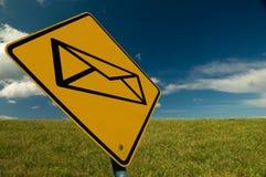 电子邮件符号 图库摄影