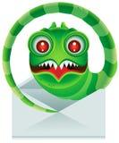 电子邮件蠕虫 图库摄影