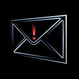 电子邮件重要消息 库存照片