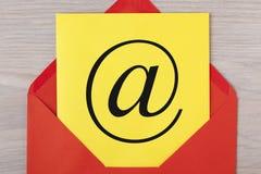 电子邮件phishing的攻击概念 免版税库存图片