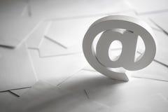 电子邮件标志 库存图片