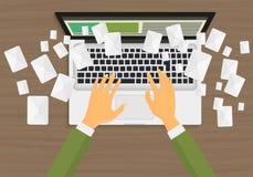 电子邮件营销概念 库存照片