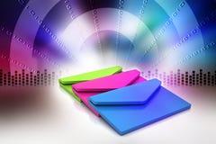 电子邮件,通信概念 图库摄影