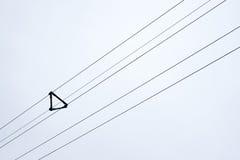 电子配电电缆 库存图片