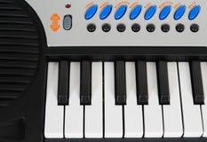电子钢琴 图库摄影