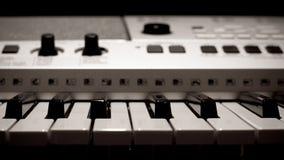 电子钢琴 库存照片