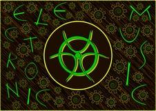电子音乐概念艺术 皇族释放例证