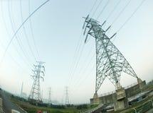 电定向塔 库存图片