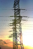 电定向塔 免版税图库摄影