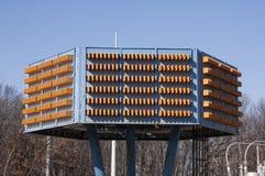 电容器结构树 免版税图库摄影