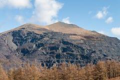 电山, Snowdonia国家公园,威尔士,团结的Kingdo 库存图片