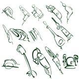 电工具 免版税图库摄影