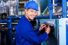 电工工业机器 免版税图库摄影