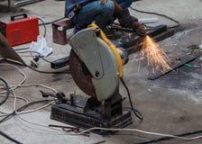 电工钢轮子研 库存照片