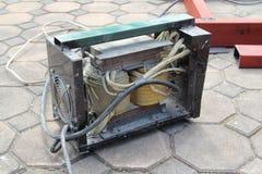 电弧焊接机器 库存照片