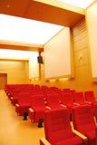 电影供以座位剧院 免版税图库摄影