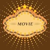 电影商品型号 库存例证