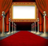 电影大门罩符号 库存图片