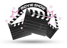 电影展示时间 免版税库存照片