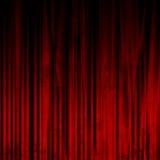电影或剧院窗帘 免版税图库摄影