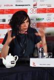 电影拉娜威尔逊导演在第39莫斯科国际影片竞赛 库存照片
